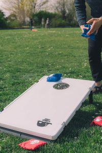Legit Camping Plastic Cornhole Boards Cornhole Set for Camping, Parties