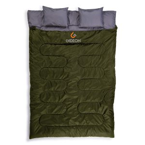 Gideon Waterproof Lightweight and Compact Double Sleeping Bag