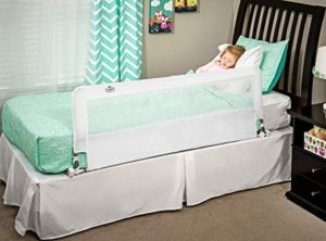 Regalo Hideaway Extra Long 54-Inch Bed Rail Guard