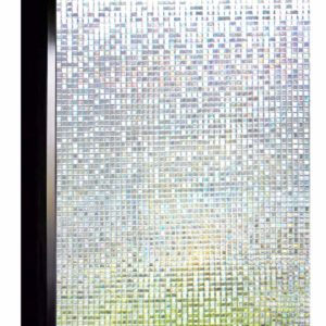 DUOFIRE 3D Window Film No Glue Decorative Film