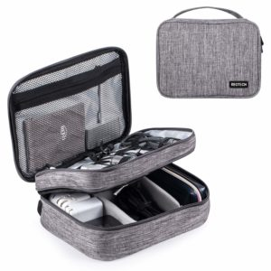REOTECH Electronics Organizer Bag for Small Electronics