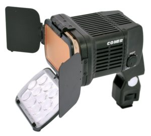 Comer 1800 High Powered On-Camera LED Light