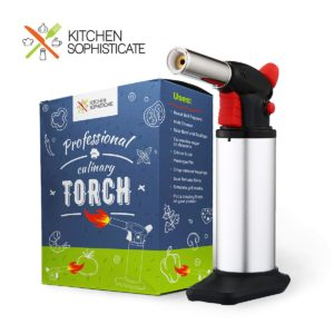 Professional Culinary Butane Torch Kitchen Cooking
