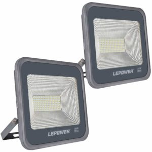 LEPOWER 100W LED White Light 2 Pack Flood Light