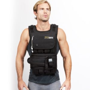 ZFOsports 40lbs-80lbs Weighted Vest