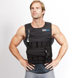 RUNFast Adjustable 12lbs-140lbs Weighted Vest