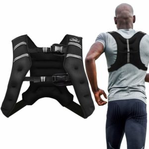 Aduro Sport Weighted Vest 4lbs-25lbs Workout Equipment