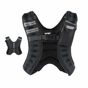 Z ZELUS Weighted Vest Strength Training Fitness 20lbs.: 12lbs