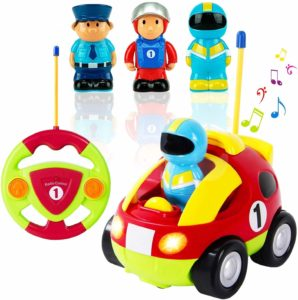 Liberty Imports First Cartoon RC Race Toy Car for Baby