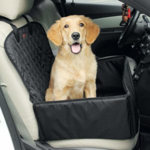 amorus 2-in-1 Waterproof Dog Pet Car Seat Cat Carrier for Travel