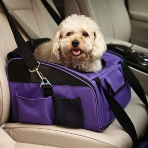 Meiying Airline Approved Small Pets Travel Car Booster Seat