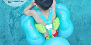 Relaxing Baby Swimming Float Ring