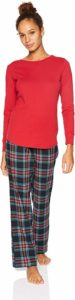 Amazon Essentials Lightweight Women's Flannel Pajama Set