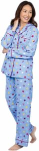 PajamaGram Women Cozy Flannel Pajamas