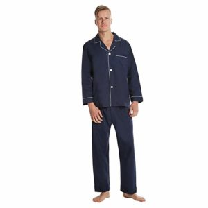 EVERDREAM Solid Lightweight Men's Pajama Set