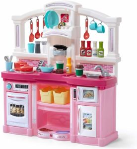 Step2 Fun Plastic Large Play Kitchen with 45-Pc Accessories Set