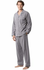 PajamaGram Classic Cotton Men's Pajamas Set
