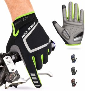 NICEWIN Cycling Motorcycle Bike Gloves with Antiskid Touch Screen