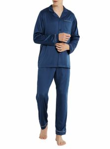 DAVID ARCHY Men's Sleepwear Long Loungewear Pajamas Set