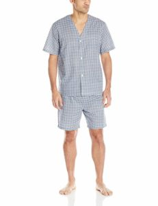 Fruit of the Broadcloth Short Sleeve Men's Pajama Set