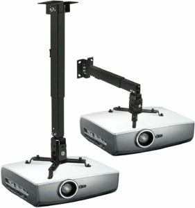 Mount-It! Projector Mount for Ceiling Wall with 44lb Load Capacity