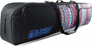 Element Equipment Deluxe Premium Padded Snowboard Travel Bag