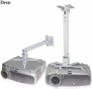 Drsn Universal Projector Wall Mount Ceiling Mount Extendable Projector Mount
