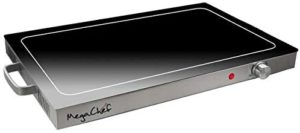 Megachef 24 in Electric Warming Tray Silver